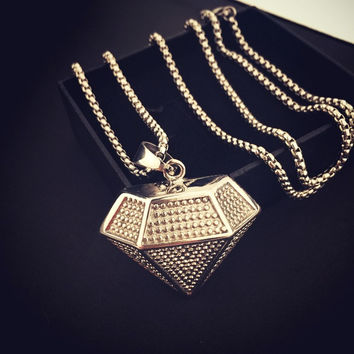 Gift New Arrival Shiny Jewelry Stylish Hip-hop Club Necklace [8439461635]