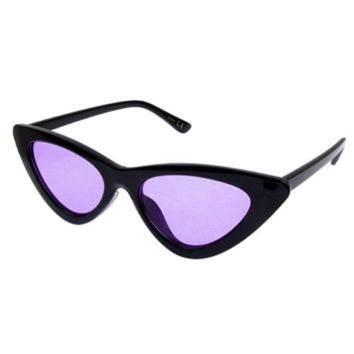 Cat Eye Shades - Black/ Purple