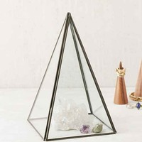 Pyramid Glass Cloche