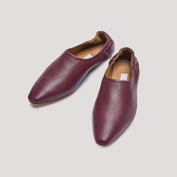 GEORGETTE WINE SOFT NAPA FLATS