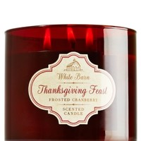 3-Wick Candle Thanksgiving Feast - Frosted Cranberry