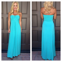 Kolinka Maxi Dress By SKY - V713RX - SEA FOAM