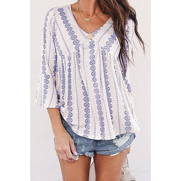Black White Valley of The Dolls Babydoll Blouse