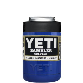 Custom Designed YETI Blue Gloss Colster Can Cooler & Bottle Insulator