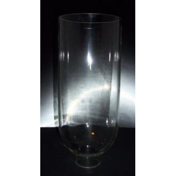 "27003 - Tall Glass Hurricane  Lamp Shades  Large 12""  With 2"" Fitter"