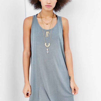 Truly Madly Deeply Open-Seam High/Low Dress - Urban Outfitters
