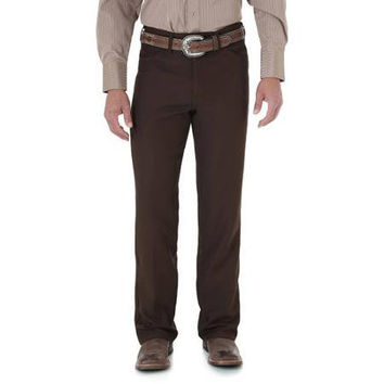 Wrangler Men's Wrancher Dress Jeans 82BN Brown