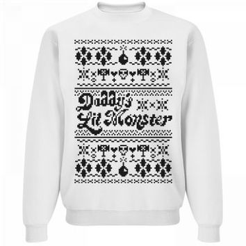 Daddy's Lil' Ugly Sweater Monster