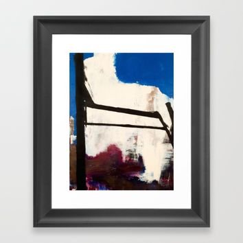 4 Degrees of Freedom Framed Art Print by EXIST NYC