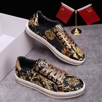 VERSACE Men or Woman Fashion Casual Shoes Flats Shoes