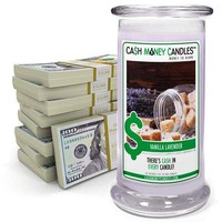 Vanilla Lavender Cash Money Candles