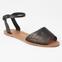 Perforated Leather Sandals