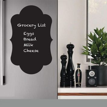 Fridge Sticker Vinyl Decals Chalkboard Sticker, Chalk board Wall Stickers Kitchen Home Decoration Size 30x50CM Cuisine D729