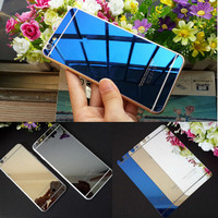 Retail Package High Quality 9H Hardness Front+Back Mirror Tempered Glass Screen Protector Film Case For iPhone 6 6 Plus/5s