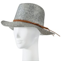Women's Felt Fedora Hat Grey - Merona™