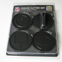 NFL Pittsburgh Steelers Officially Licensed Set of Cookie Cutters
