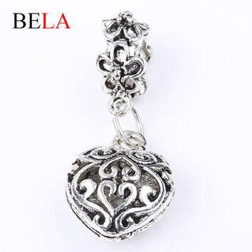 Silver Charm Beads Authentic 925 Sterling Silver Fits Pandora Charm Bracelets & Bangle