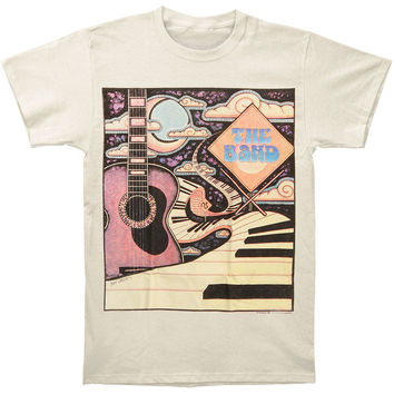 Band Men's  Piano Road T-shirt Ivory Rockabilia