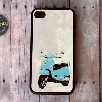 Cool vintage feel Vespa iPhone 4 / 4s case