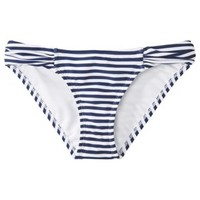 Xhilaration® Junior's Hipster Swim Bottom -Navy Stripe