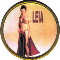 Star Wars Iron-On Patch Princess Leia