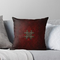 'Decorative celtic knot ' Throw Pillow by nicky2342