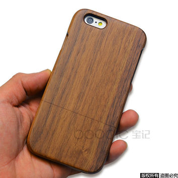 Stylish Hot Deal On Sale Cute Iphone 6/6s Apple Wooden Handcrafts Phone Case [8606825095]