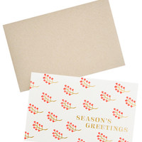 Holiday Berries Card Set