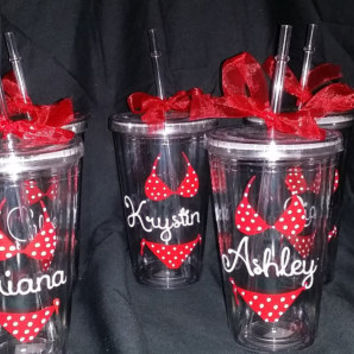 Tumbler Cup, Personalized Tumbler Cup Favors, Kids and Adult Parties/Events, Completely Custom