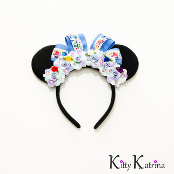 Inside Out Mouse Ears Headband, Inside Out Birthday, Inside Out Party, Disney Bound, Disney World, Disneyland, Disney Ears, Minnie Ears