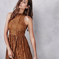 Free People Womens Verushka Mini Dress