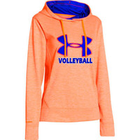 Under Armour Women's Big Logo Twist Hoodie - Neon Orange