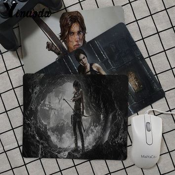 Yinuoda Tomb Raider Unique Desktop Pad Mouse pad anime durable office accessory and gift mouse pad gamer Keyboard Mat Desk Mat