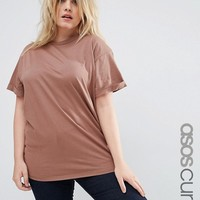 ASOS CURVE The Ultimate Easy T-Shirt at asos.com