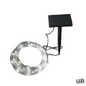 SOLAR ROPE LIGHTS with Led lights go Green with Solar