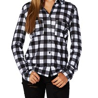 Buffalo Check Brushed Button Down