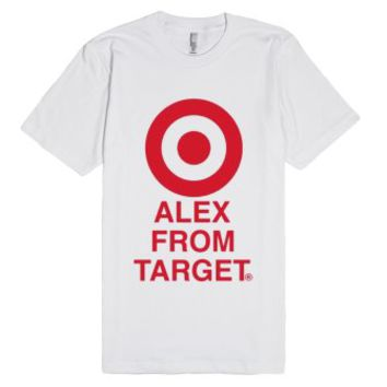 Alex from target-Unisex White T-Shirt