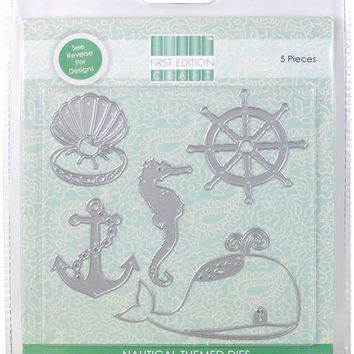 "First Edition 6""X6"" Craft A Card Die-Nautical"