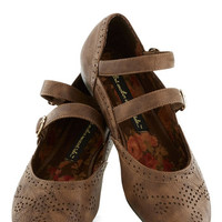 Bait Footwear Scholastic All Over Amherst Flat in Brown