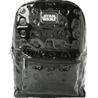 Star Wars Darth Vader Embossed Patent Backpack