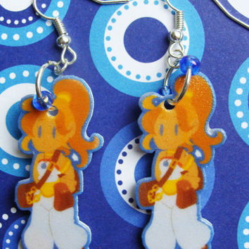 Marle - Chrono Trigger - Hook Earrings