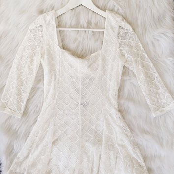 Off White Mini Romper