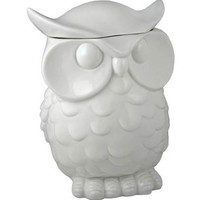 White Owl Cookie Jar