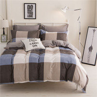Geometric Pattern Polyester Bedding Sets Hot Sales Duvet Cover Set Single Double Queen King Size