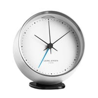 HK clock with alarm, stainless steel - Clocks - Decoration - Finnish Design Shop