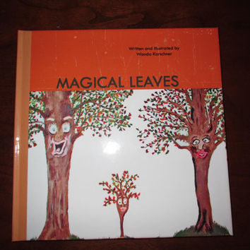 Magical Leaves Children Seasons Spring, Summer, Fall, Winter