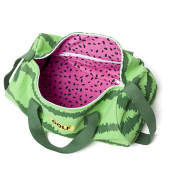 WATERMELON DUFFLE BAG RED/GREEN
