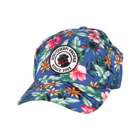Original Logo Patch Hat in Blue Tropical by Southern Proper