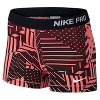 Women's Nike Pro Patchwork 3 Inch Shorts