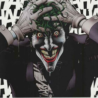 Batman The Joker Crazy DC Comics Poster 22x34